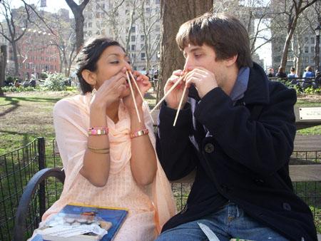 Priya & Alexei